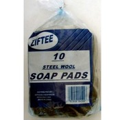 10 Pack Steel Wool Soap Pads
