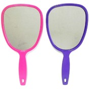Plastic Hand Mirror w/Handle