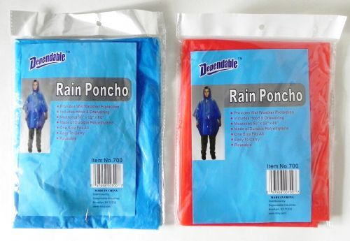 Rain PONCHO - One Size Fits All (1875885)