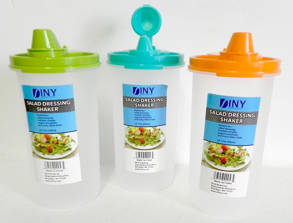 wholesale salad dressing juice shaker sku 1857655 dollardays. Black Bedroom Furniture Sets. Home Design Ideas