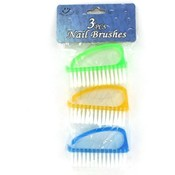 3Pc Pl Nail Brush