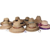 Straw Hats Assorted Wholesale Bulk