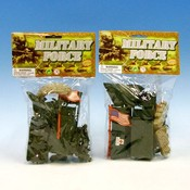 Military Play Set Plastic