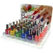 36 Pc Nail Polish Display 6 Colors