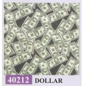 Dollar Sign Bandanna 22 X 22 Inch