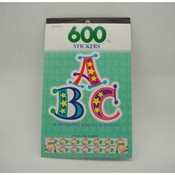 600 Pc Abc Accents Stickers Borders
