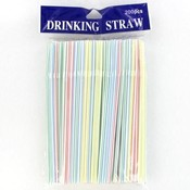 200 Pack Straws Flexible Ends