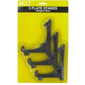 3 Pc Plate Stand Shelf Holder Wholesale Bulk