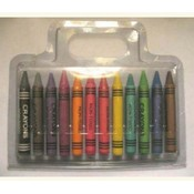 12 Pc Jumbo Crayons Wholesale Bulk