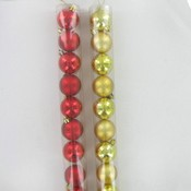 10 Pc 6.75 Round Ornament Disco Wholesale Bulk
