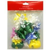 16 Star Bows & Ribbon Eggs Wholesale Bulk
