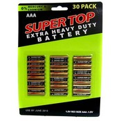 30 Pc Aaa Batteries Wholesale Bulk