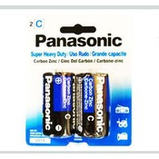 2 Pk C Panasonic Batteries Wholesale Bulk