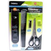 4Pc Hair Beard Trimmer Kit Tv Item Wholesale Bulk