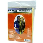 Adult Size Hooded Raincoat Colors Blue Yellow Green