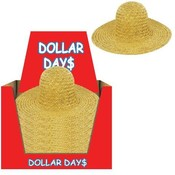 Child Straw Hat Large Wholesale Bulk