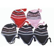 Ear Cover Knit Hat-Junior Child Sizes