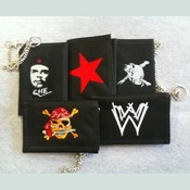 6 Assorted Mens Wallets 5 X 3.5 Inch