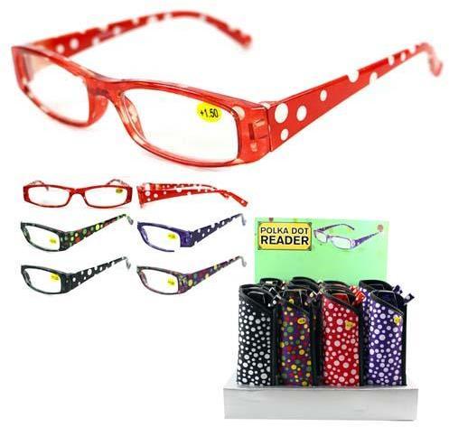 Zenni Optical Polka Dot Glasses : Wholesale Womens Polka Dot Reading Glasses (SKU 2125227 ...