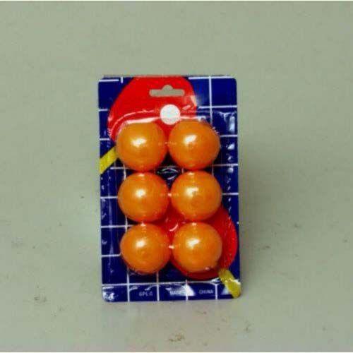 6Pc PING PONG Balls (893703)
