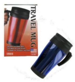 Travel Coffee Hot MUG - 16 oz. (892057)