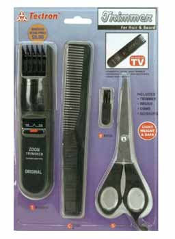 wholesale hair beard trimmer set sku 371102 dollardays. Black Bedroom Furniture Sets. Home Design Ideas