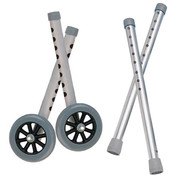 Extended Height 5' Walker Wheels and Legs Combo Pack Wholesale Bulk