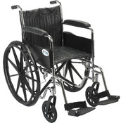 Chrome Sport Wheelchair Wholesale Bulk