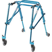 Wenzelite Rehab Youth Nimbo Rehab Lightweight Cornflower Blue Posterior Posture Walker Wholesale Bulk