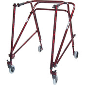 Wenzelite Rehab Adult Nimbo Rehab Lightweight Flame Red Posterior Posture Walker Wholesale Bulk