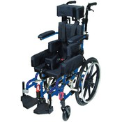 Wenzelite Rehab Blue Kanga TS Pediatric Tilt In Space Wheelchair. Size: 14'. Wholesale Bulk
