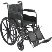 Silver Sport 2 Wheelchair with Elevating Foot Rest Wholesale Bulk