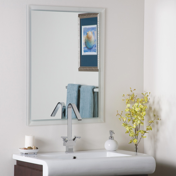 Décor Wonderland Wholesale the Arch Frameless Bathroom Mirror with ...