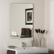 Columbus Frameless Bathroom and Wall Mirror