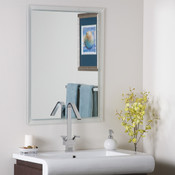 Frameless Etch Edge Bathroom and Wall Mirror