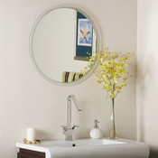 Frameless Contempo Bathroom and Wall Mirror
