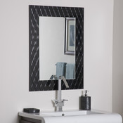 Frameless Strands Bathroom and Wall Mirror