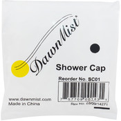 Shower Cap, Latex Free, Clear, Individually Bagged