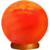 Hand Carved Himalayan Salt Lamp- Globe