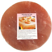 8&quot; Round Himalayan Salt Kitchen Slab