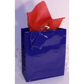 "Royal/Dark Blue Gift/Tote Bag - 21"" x 17"" x 7"""