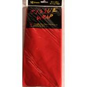 Red Tissue Paper - 10 Sheet Pack Wholesale Bulk