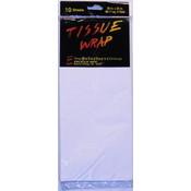 White Tissue Paper Packs - 10 Sheets Wholesale Bulk