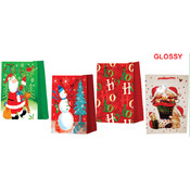 Gift Bags - Christmas Designs - Jumbo Wholesale Bulk