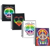 Love Peace Notebooks