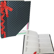 Address Book - Black