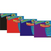 Jumbo Book Cover - Strecthable-Assorted Colors