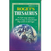 Roget's Thesaurus - Home/School/Office Edition