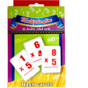 Flash Cards Multiplication - 36 cards
