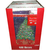 Xmas Gift Boxes - 10 pk - assorted sizes Wholesale Bulk